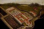 Die Benediktiner-Abtei Ottobeuren aus der Vogelschau