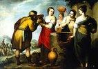 Rebekka und Eleasar am Brunnen