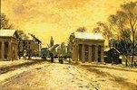 Winter am Ratinger Tor