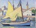 Fischerboot mit Blick auf La Chaume