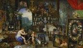 Allegorie des Sehens. (Ausgeführt mit Peter Paul Rubens)