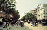 Der Boulevard des Italiens in Paris