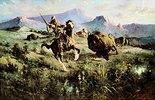 Büffel-Jagd