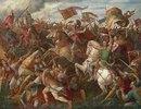 Sieg Rudolfs von Habsburg über Ottokar II. (Schlacht auf dem Marchfeld)