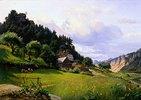 Landschaft in der Sächsischen Schweiz