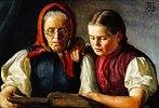 Mutter und Schwester des Künstlers