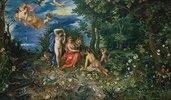 Ceres und die vier Elemente (Figuren von H.van Balen)