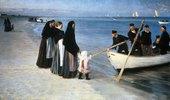Ausfahrt der Fischer. (Skagen 1894)