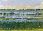 Ufer am Aeschi-See