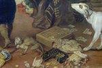 """Detailaufnahme aus dem Gemälde """"Der Winter"""""""