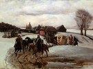 Die Wallfahrt des Zaren im Frühjahr, in der Zeit des Aleksej Michailowitsch