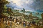 Seehafen mit Predigt Christi