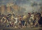 Kampf zwischen Sabinern und Römern (Die Sabinerinnen)