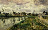 Flusslandschaft bei Argenteuil