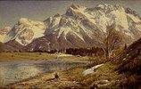 Die Karwendelspitze im Vorfrühling