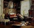 Das Musikzimmer des Künstlers