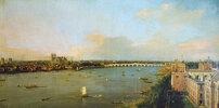Ansicht von London mit der Themse