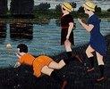 Der Hut im Teich