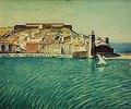 Blick auf Collioure