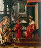 Die Vorfuehrung des Hl. Florian vor den Statthalter