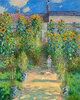 Der Garten des Künstlers in Vétheuil