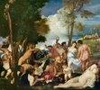 Das Bacchanal oder Die Andrier. Tizian
