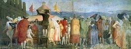 Il Mondo Nuovo, 1791, Menschenmenge vor einem Guckkasten