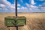 Namibia; Briefkasten einer Farm