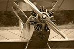 Flugzeug-Oltimer
