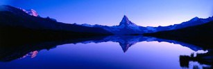 Look at the Matterhorn, Zermatt, canton Valais, Switzerland