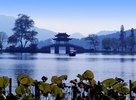 Westsee in Hangzhou, Zhejiang, China