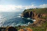 Felsküste am Land's End Hotel, Cornwall, Südengland, Grossbritannien
