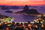 Look at the Botafogo bay and Sugarloaf Mountain, Rio de Janeiro, Brazil