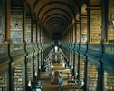 Old Library im Trinity College, Dublin, Leinster, Irland
