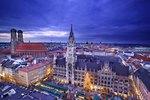 Christkindlmarkt, Marienplatz, München, Bayern, Deutschland