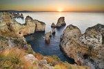 Ponta da Piedade, cape near Lagos, Lagos, Algarve, Faro, Portugal