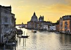Canale Grande, Santa Maria della Salute, Venedig, Provinz Venezia, Venetien, Italien