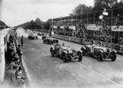 Start zum Grand Prix von Irland. 9.6.1931. Phönix-Park/Dublin. Photographie