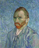 Vincent Van Gogh, Selbstportrait. Gemälde