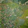 Italienische Gartenlandschaft, 110 x 110 cm