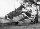 F.B. Wilmhurst bei der Hillburn Horse Show. New York. Photographie