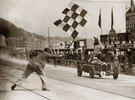 Erian Lewi gewinnt auf Alfa Romeo das Rennen in Douglas, Isle of Man. Photographie