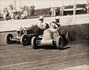 Midget Car Speedway Meeting. Lea Bridge