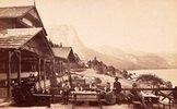 Der Grundlsee vom Schramml aus photographiert. Steiermark, Österreich. Photographie