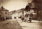 Blick auf eine Strasse im 17. Wiener Gemeindebezirk. Österreich. Photographie