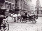 Wiener Fiaker. Österreich. Photographie. Um 1890.