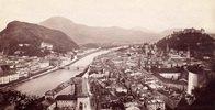 Ansicht von Salzburg. Photographie