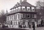 Sogenanntes Bäckenhäusel in der Währingerstrasse in dem sich das Atelier des bedeutenden wiener Photographen Viktor Angerer befand, Wien, Österreich. Photographie von August Stauda. Um 1885