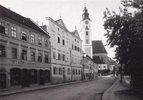 Stadtansicht von Eferding, Oberösterreich, Österreich. Photographie