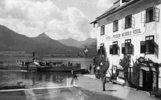 Hotel und Pension Weisses Rössl in St.Wolfgang am Wolfgangsee. Salzkammergut. Österreich. Photographie